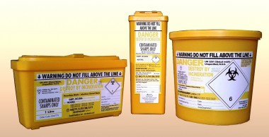 Nadeln - Entsorgungsbox 500 ml