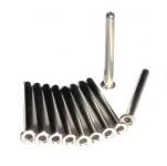 Metallhülsen für Nadelmoxa 100 Stück
